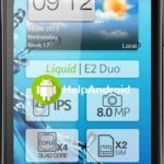 How to block numbers / calls on Acer Liquid E2