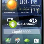 How to take screenshot on the Acer Liquid E600 Plus
