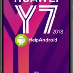 How to take screenshot on the Huawei Y7 Prime 2018
